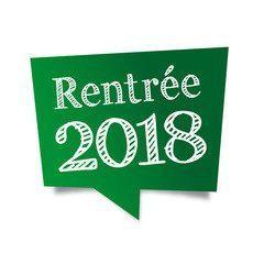 RENTREE SCOLAIRE 2018